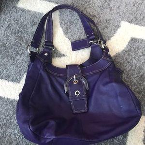 Coach Bags - Purple Coach handbag